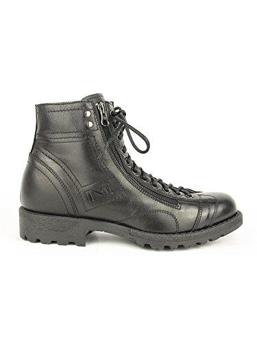 Zwart Giardini, 3020, laarzen, leer