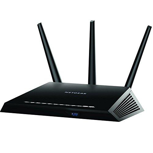 Netgear R7000 Gigabit Ethernet - Routers inalámbricos (Doble banda (2,4 GHz / 5 GHz), Wi-Fi 5 (802.11ac), 1300 Mbit/s, 10,100,1000 Mbit/s)  [enchufe inglés]