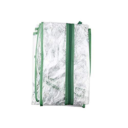 Moonvvin Garden 2 Tier Gewächshausabdeckung Warmhouse PVC-verstärkte Ersatzabdeckung Growhouse Nur durchsichtige PVC-Abdeckung (3 Tiers Abdeckung)