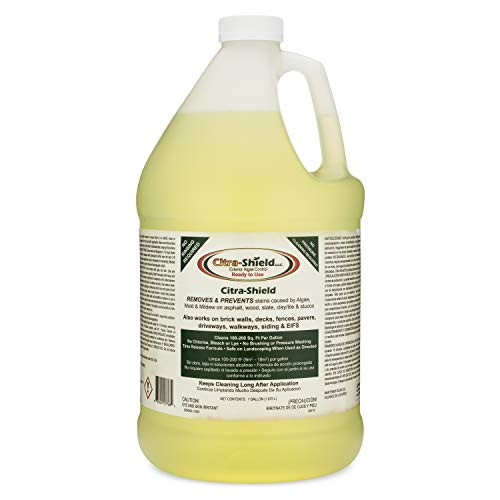 CITRA-Shield Ready to Use Exterior Cleaner Algae, Mold & Mildew Removal & Prevention for Roof, Decks, Driveways