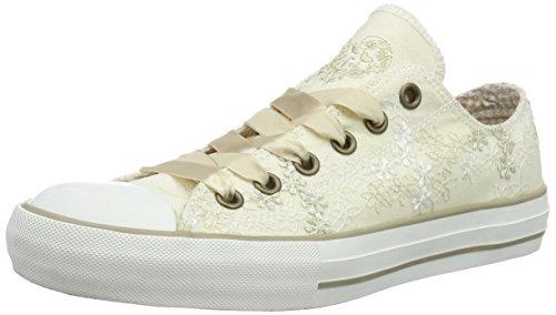Krüger MADL SNEAKER PEARL, Damen Sneakers, Beige (ecru 2), 37 EU