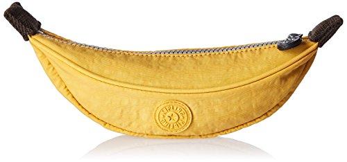 Kipling Banana Estuche para mujer, Amarillo, Una talla