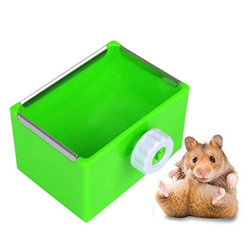 Konijn Hooiruif Feeder Pet Feeder Hooi Feeder Doos Rat Voedsel Kom Hamster Voedsel Bowls Cavia Hooi Feeder Konijn Voedsel Kom Konijn Hooi Houder green