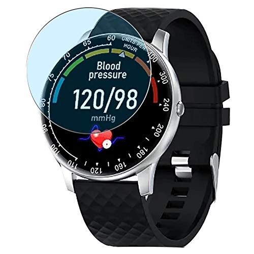 Vaxson 3-Pack Anti Luce Blu TPU Pellicola Protettiva, compatibile con Peakfun H30 smartwatch Smart Watch, Screen Protector Film [ Non Vetro Temperato ]