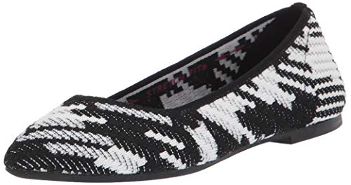 Top 10 best selling list for black and white shoes womens flats
