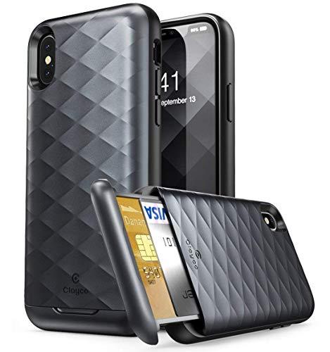 Clayco Funda iPhone X, [Argos Series]...