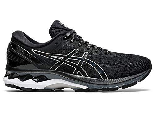 ASICS Women's Gel-Kayano 27 Running Shoes, 10M, Black/Pure Silver