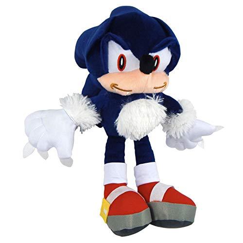 Unknow Peluche Sonic Juguete Lobo Wolf The Werehog Azul Cute Bordado Colmillos Plush Grande