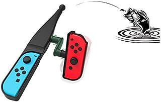 Childlike Switch用 釣り竿 体感コントロールゲーム 釣りロッド ジョイスティック ゲームパッドツール Joy-con用 釣りスピリッツ対応