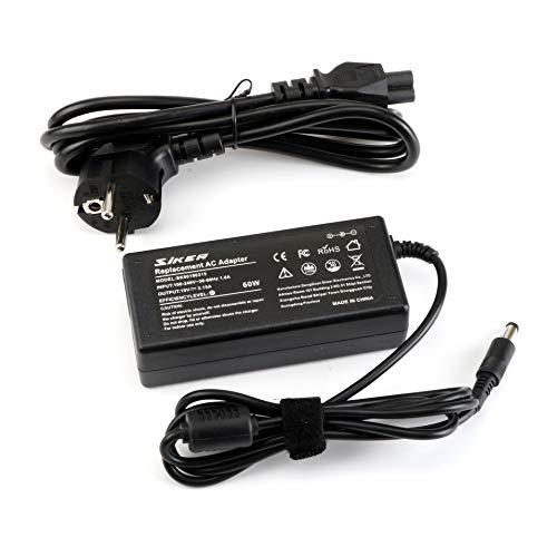 19V 3.16A 60W Adaptador de CA / cargador de computadora portátil para Samsung AD-6019R 0335A1960 CPA09-004A R580 R540E R540 R440I R480I R430I NP270E4E NP270E5E con cable de alimentación de 3 patas