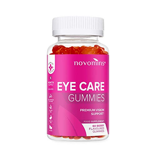 Eye Care Gummies by Novomins Nutrition in The UK