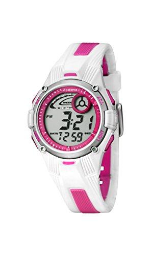 Calypso Mdchen Chronograph Quarz Uhr mit Silikon Armband K5558/2