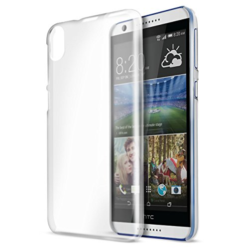 Orzly - InvisiCase for HTC DESIRE 820 - 100% CLEAR (100% Transparent Color) Protective Phone Cover Shell for HTC DESIRE 820 SmartPhone / Phablet (Fits Original 2014 Model)
