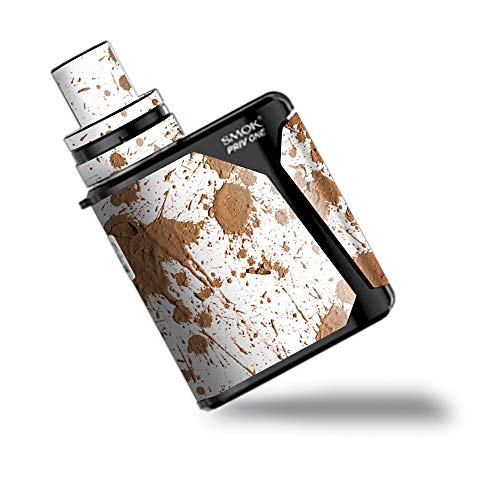 IT'S A SKIN Decal Vinyl Wrap for Smok Priv One AIO kit Vape Stickers Cover/Mud Splatter Dirty Dirt