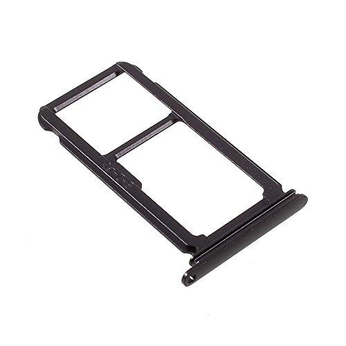 'Repuesto Bandeja alloggio trineo Micro SD + puerta Nano tarjeta SIM 'Black' para 'Huawei P10Plus Negro