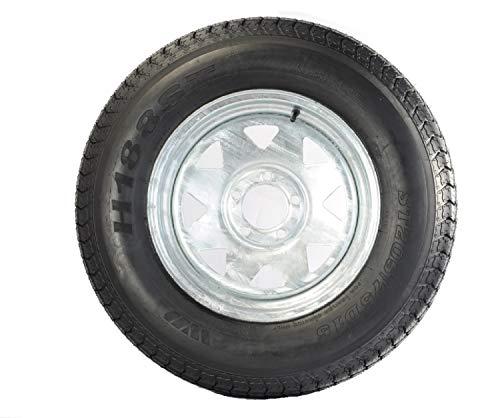 Tredit XOVY 205/75D14 Trailer Tire (205/75D14 Trailer Tire - Galvanized Rim)