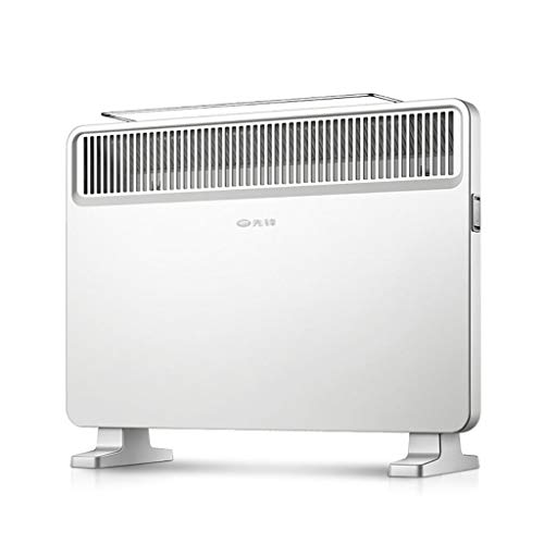 LP Convector-convectieverwarming, draagbare elektrische verwarming, vrijstaand, 2 standen, IPX4 waterdicht, energiebesparende badkamer huishouden duurzaam