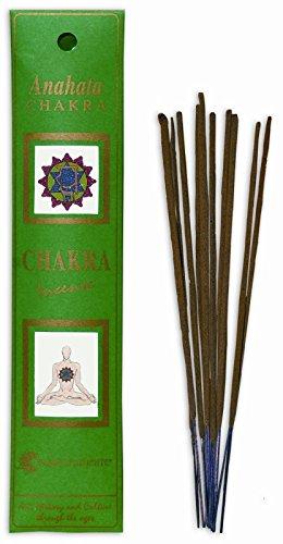 FIORE D'ORIENTE Anahata Chakra Incense, Confezione da 20 pezzi