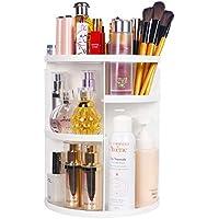 Sanipoe DIY Detachable Spinning 360 Makeup Organizer