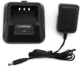 Li-ion Battery Desktop Charger Compatible for UV-5R 5RA 5RB 5RC 5RD 5RE