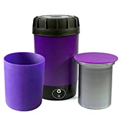 NOVA: Fully activates botanicals or oils NOVA: Odorless and mess free and easy to use at home NOVA: Holds up to 1 ounce of material SLEEVE: Specially designed for the Ardent Nova to fit exact specifications of inner canister / FDA approved, food-grad...
