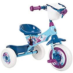professional Huffy Frozen 2 Kid Tricycle Tricycle with 2 storage boxes