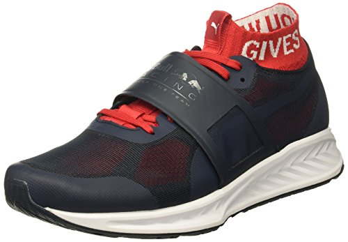 PUMA Men's RBR Mechs Ignite 3 Sneaker, Total Eclipse-Chinese Red White, 10.5 M US