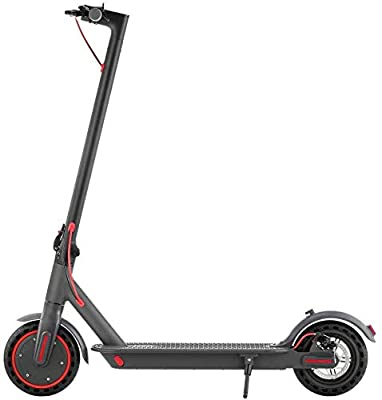 WIKEE HappyRun Electric Scooter Adult Max Speed 15.5mph Mileage 35km 8.5 inch Puncture Proof Tire Waterproof IPX5 Motor 350W Battery 36V 10.4Ah