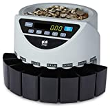 ZZap The CS20 Grey - Automatic UK Coin Counter & Sorter - 220