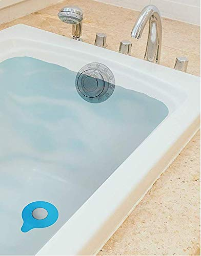 hualiyuyuan Value Pack Kit - Bathtub Drain Stopper e Bath Overflow Drain Cover Aumenta i Livelli di Acqua da Bagno &uh Seal Your Drain