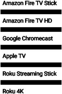 Streamer Comparison