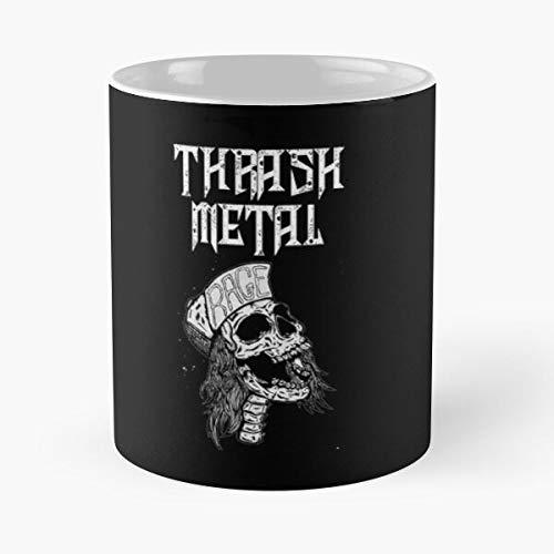 Hockey Metal Kreator Heavy Slayer Rough Thrash Metallica Best 11 oz Kaffeebecher - Nespresso Tassen Kaffee Motive