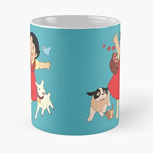 Cartoon Series Show Anime Tv Heidi Alps Switzerland Comic - Best 11 oz Kaffeebecher - Nespresso Tassen Kaffee Motive