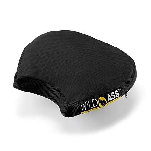 WILD ASS Smart Air Gel Motorcycle Air Cushion, Black