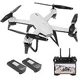 WECDS-E Drone con cámara Dual 22 Min Flight SG106 Optical Flow 4K Gran Angular WiFi FPV Altitude Hold Fotografía de Gestos Quadcopter