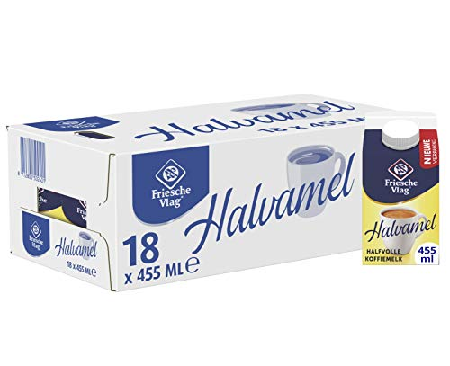 Friesche Vlag Koffiemelk Halvamel 18 x 455 ml