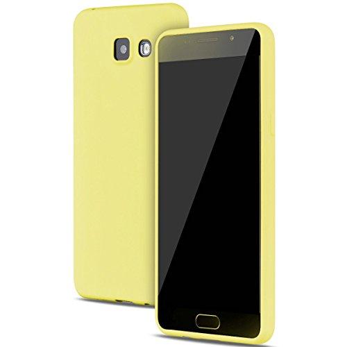 Funda Samsung Galaxy A3 2016 Carcasas Gel TPU Silicona Flexible Candy Colors Ultra Delgado Ligero Goma Case Cover Caja Suave Gel Shock Absorción Anti Rasguños Anti Choque Bumper Protectora Funda