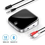 Best Bluetooth Audio Receiver Transmitters - Bluetooth 5.0 Transmitter Receiver, Knofarm Wireless Audio Adapter Review
