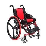 Sports Leisure Wheelchair, Adult Haute Qualité Handicapé Loisirs Grandes Roues...