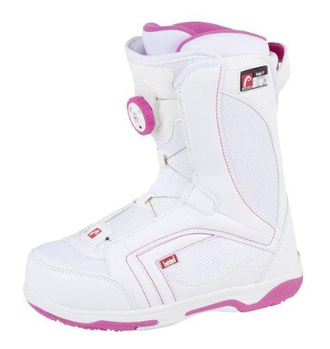 HEAD Damen Snowboard-Boots Galore Boa Mehrfarbig weiß/rosa 255 cm