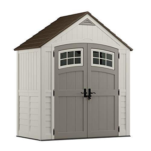 Our #3 Pick is the Suncast 6' x 3' Cascade Outdoor Storage Shed