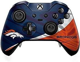 Skinit Decal Gaming Skin for Xbox One Elite Controller - Officially Licensed NFL Denver Broncos Design