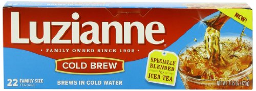 Luzianne Cold Brew Black Tea, 22 Count