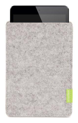 WildTech Sleeve für Medion LifeTab S8312 Hülle Tasche - 17 Farben (Made in Germany) - Hellgrau