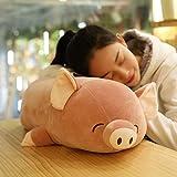 Mjia Pillow Gefüllte Plüsch Kissen Schlafkissen Kissen Kinder Komfort Spielzeug, Bequeme Schwein...