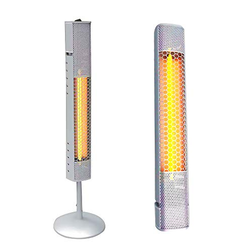 41Ys55IUY0L. SS500  - 800W Electric Freestanding Patio Heater Waterproof IP65 Outdoor Patio Heater Electric Wall Mounted Outdoor Heaters for…