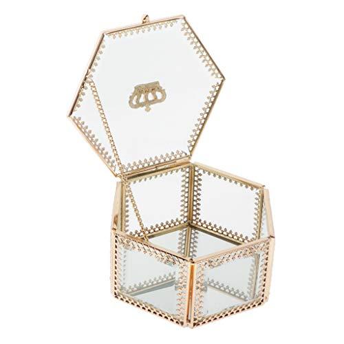Milageto Expositor para cajas organizadoras de joyas con maquillaje transparente para pulsera con collar de Gingili