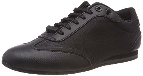 BOSS Herren Lighter_Lowp_Logo Sneaker, Schwarz (Black 001), 46 EU
