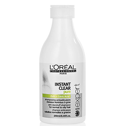 L'Oréal Expert Instant Clear Purifying Anti-Dandruff - Champú, 250 ml