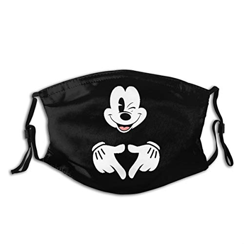 Anti Dust MA Face Mouth MA,Fashion Reusable Washable Outdoor Unisex Mickey Mouse MA